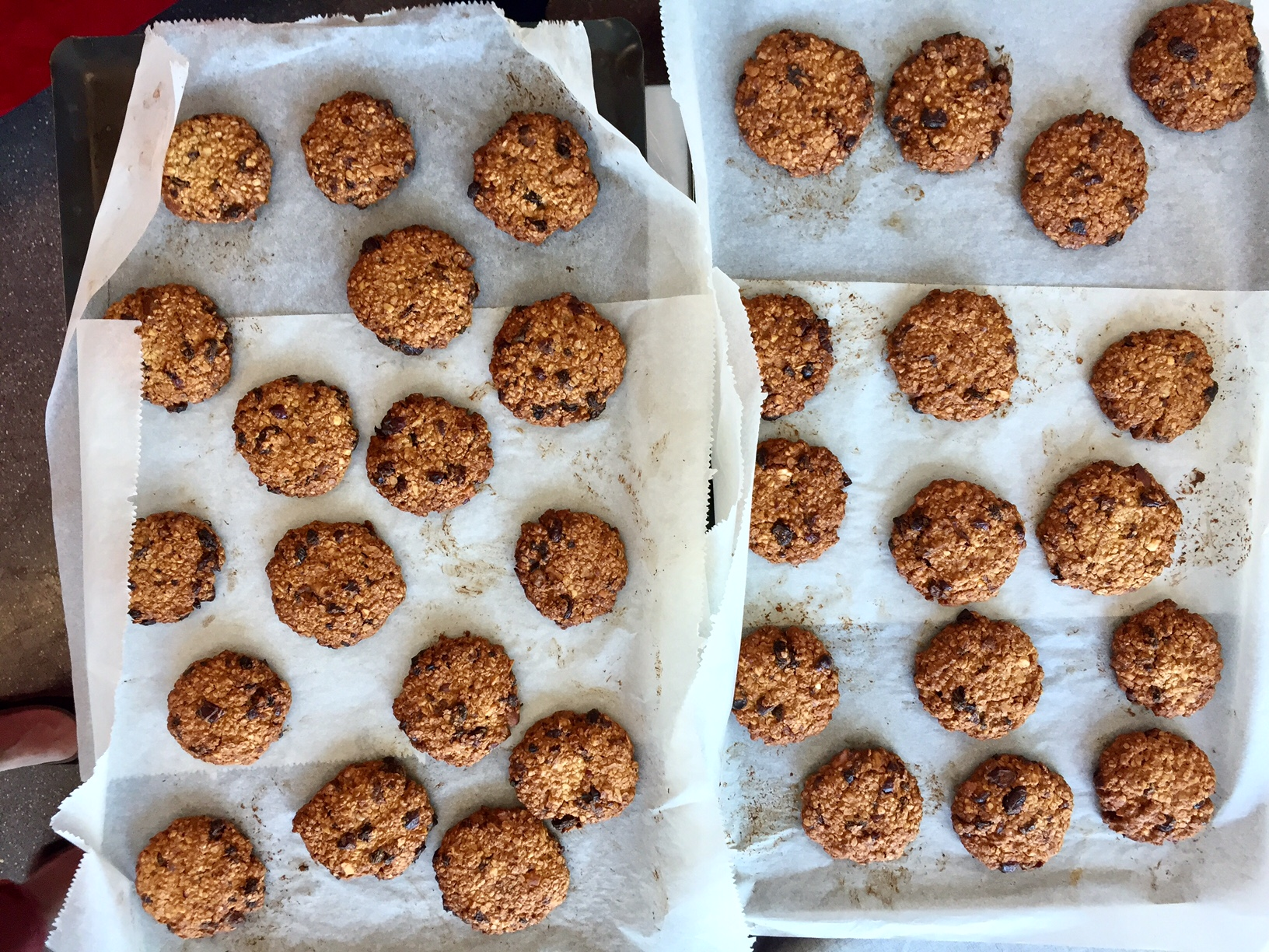 Cookies aux flocons d'avoine et fruits secs
